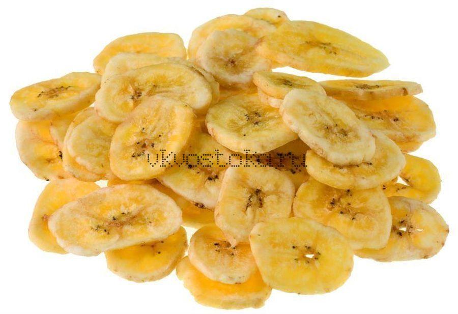 Чипсы банановые целые 100г